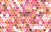 picture of hexagon pattern  - vector hexagonal design background - JPG