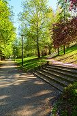 image of turin  - valentino park in the city of turin - JPG