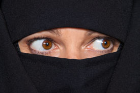 foto of burka  - Example picture Islam - JPG