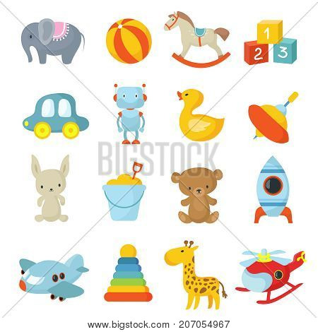 Cartoon children toys