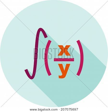 Formula, geometry, maths icon vector image. Can also be used for ...