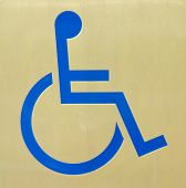 picture of crippled  - a notice toilet for crippled or old - JPG