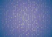 Vector Hexadecimal Code Pale Violet Retro Background. Big Data And Programming Hacking, Deep Decrypt poster