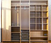 picture of assemblage  - New wardrobe in the course of assemblage - JPG