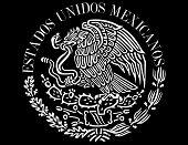 stock photo of nopal  - Mexican flag symbol seal national history country - JPG