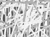Bauhaus Seamless Pattern. Watercolor Geometric  Black And White Lines Design. Art Organic Geo Backgr poster