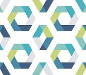 Seamless Geometric Pattern. Seamless Abstract Geometrical Background. Infinity Geometric Pattern. Ve poster