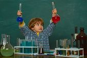 Lesson Plans - Middle School Chemistry. Ready For School. Experiment. First Grade. First School Day. poster