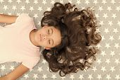 Kid Perfect Curly Hairstyle. Conditioner Mask Organic Oil Keep Hair Shiny And Healthy. Amazing Curls poster