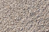 Crushed Stone Background Of Limestone Rocks. Road Gravel. Natural Gravel Texture, Gravel Gravel Back poster