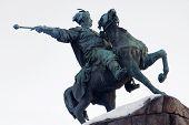 pic of bohdan  - Bogdan khmelnitsky statue in Kiev - JPG