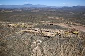 image of superstition mountains  - A dwelling in the rough terrain of the Superstition Mountains - JPG