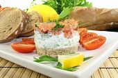 Salmon Tartare With Parsley
