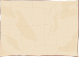 pic of treasure map  - map style paper background on a white background - JPG