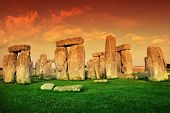 stock photo of stonehenge  - The Stonehenge - JPG