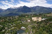 picture of south tyrol  - View from the bird