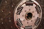 picture of clutch  - Automobile clutch part - JPG