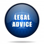 picture of judiciary  - legal advice internet icon - JPG