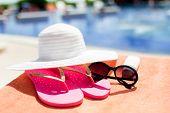 foto of beach hat  - beach - JPG