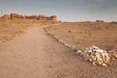 pic of jainism  - Bada Bagh Cenotaph in Jaisalmer - JPG