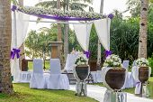picture of cabana  - beautiful wedding arch - JPG