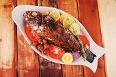picture of sunfish  - main course - JPG