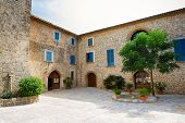 stock photo of calatrava  - House in Mallorca island - JPG
