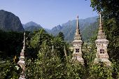 picture of ban  - Buddhist cemetery at Ban Phatang - JPG