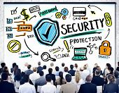 picture of seminars  - Ethnicity Business People Security Protection Conference Seminar Concept - JPG