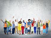 stock photo of diversity  - Diverse Diversity Ethnic Ethnicity Unity Variation Concept - JPG