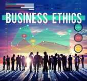 stock photo of ethics  - Business People Business Ethics Concept - JPG
