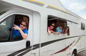 foto of motorhome  - Family vacation - JPG