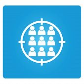 picture of crotch  - group of people symbol in blue square button - JPG