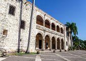 foto of conquistadors  - Diego Columbus palace  - JPG