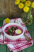 picture of beet  - Beetroot soup - JPG