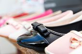 pic of shoes colorful  - Row of different coloured women - JPG