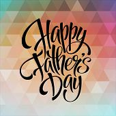 pic of daddy  - Greeting card template for Father Day - JPG