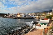 stock photo of canary  - Sea Village at the Spanish Canary Islands - JPG