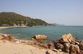 picture of lantau island  - One of the beaches on Lantau island in Hong Kong - JPG
