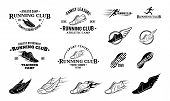 image of clubbing  - Running club labels templates - JPG