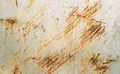 image of scratch  - scratched metal painted silver paint - JPG
