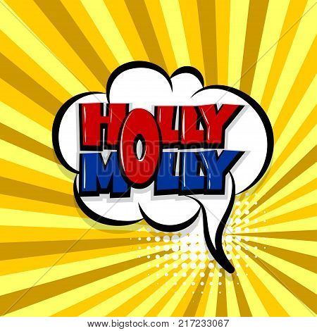 holly molly Comic