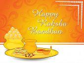 stock photo of rakshabandhan  - happy rakshabandhan illustration - JPG