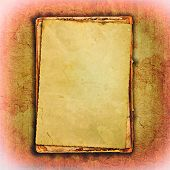 the old parchment grunge background poster