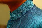 picture of sherwani  - Young indian male wearing traditional indian ethnic wear sherwani - JPG