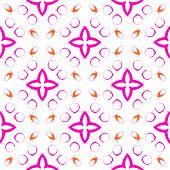 Pinkish Circles Seamless Pattern. Hand Drawn Watercolor Ornament. Adorable Repeating Design. Fetchin poster