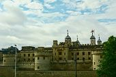 The Tower Of London, Some Architectural Elements Of The Tower. poster