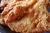 picture of fried chicken  - close - JPG