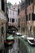 Small Canal In Venice poster