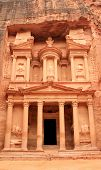 pic of square mile  - The treasury at Petra Lost rock city of Jordan - JPG